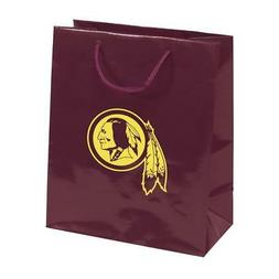Washington Redskins Elegant Foil Gift Bag  Wrapping Present