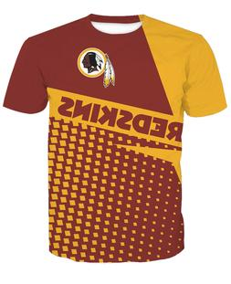 washington redskins football t shirt sports casual