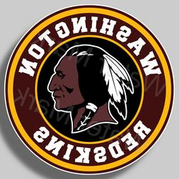 Washington Redskins Football Vinyl Sticker Decal Truck Car W