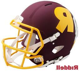 Washington Redskins Full Size AMP Authentic Speed Helmet New