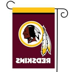 "Washington Redskins Garden Flag NFL Licensed 12.5"" x 18"" Bri"