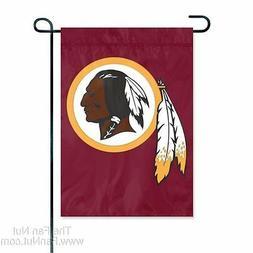 Washington Redskins GARDEN Window Flag Banner Applique Embro