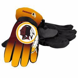 Washington Redskins Gloves Big Logo Gradient Insulated Winte