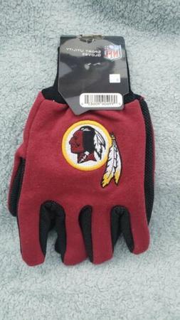Washington Redskins Gloves Sports Logo Utility Work Gloves N