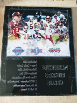 Washington Redskins Greats team statistics plaque - New Lowe