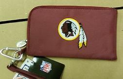 Washington Redskins ID Wallet Wristlet Cell Phone Case Charm