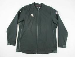 Washington Redskins Nike Jacket Men's Black Dri-Fit New XLar
