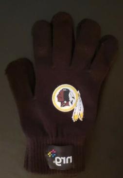Washington Redskins Knit Gloves
