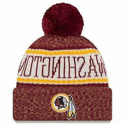 Washington Redskins Knit Hat 2018 NFL Sideline Cold Weather