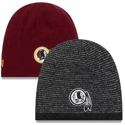 Washington Redskins Knit Hat Reversible Basic Team Beanie NF