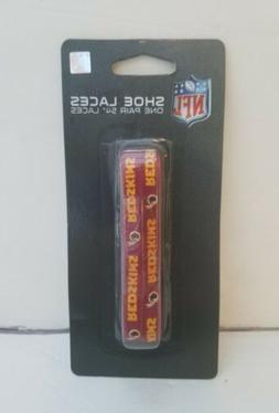 Washington Redskins logo colored 54-inch shoelace