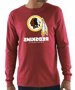 Washington Redskins Mens Critical Victory 3 Long Sleeve T Sh