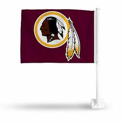 Washington Redskins NFL 11x14 Window Mount 2-Sided Car Flag