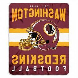 "Washington Redskins NFL Northwest 50""x60"" Singular Soft Flee"