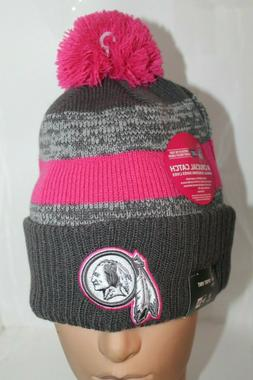 Washington Redskins New Era NFL Cancer Awareness Sport Knit