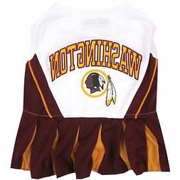 Pets First Washington Redskins NFL Cheerleader Outfit
