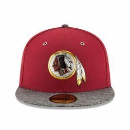 Washington Redskins New Era NFL Draft On Stage Fitted Flat B