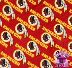 Washington Redskins NFL Fleece Fabric 6266 D