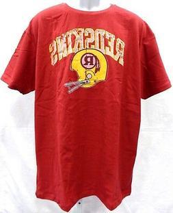 Washington Redskins NFL Football Short Sleeve Shirt Burgundy