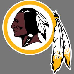 Washington Redskins NFL Football Vinyl Sticker Car Truck Win