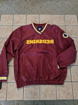 Washington Redskins NFL G-III Pullover Men's Jacket NWT sz L