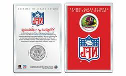 WASHINGTON REDSKINS NFL Helmet JFK Half Dollar Coin w/ NFL D