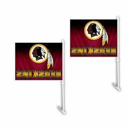 Washington Redskins NFL Hombre Car Flag