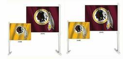 Washington Redskins NFL Home and Away Car Flag