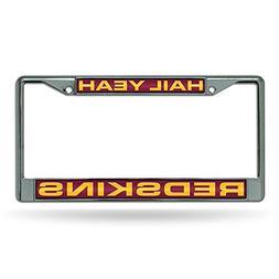 Washington Redskins NFL Laser Chrome License Plate Frame