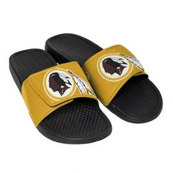 Washington Redskins NFL Men's Cropped Big Logo Flip Flop,San