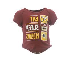 Washington Redskins NFL Official Apparel Infant Baby Creeper