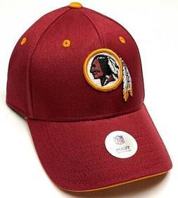 Washington Redskins NFL Team Apparel Burgundy Red Hat Cap Ad
