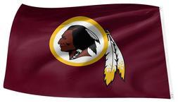 WASHINGTON REDSKINS Official 3'x5' NFL Football Team Logo Ba