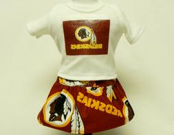 Washington Redskins Outfit For 18 Inch Doll