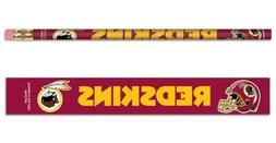 Washington Redskins Pencil 6 Pack