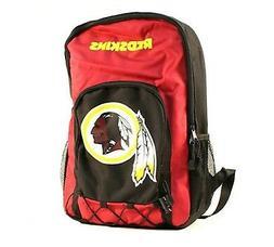 washington redskins premium backpack heavy duty echo