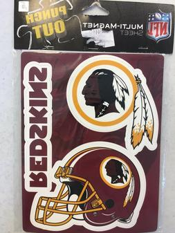 WASHINGTON REDSKINS PUNCH OUT CAR MAGNET GREAT HOLIDAY GIFT
