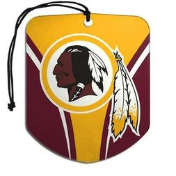 Washington Redskins Shield Design Air Freshener 2 Pack  NFL