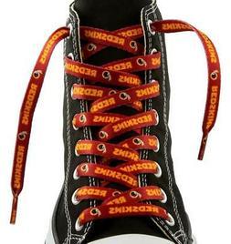 """Washington Redskins Shoe Laces 54""""  NFL Lace Sneaker Tennis"""