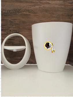 Washington Redskins  Small 9L 2.4 Gallon Wastebasket Man Cav