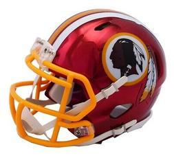 Washington Redskins Riddell Speed Mini Helmet - Chrome Alter