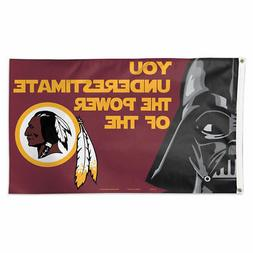 Washington Redskins Star Wars Large Outdoor Flag