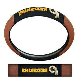 Washington Redskins Steering Wheel Cover Pigskin Design  NFL