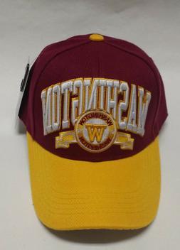 Washington Redskins Team Color  3D Embroidered Hat/Cap - EXC