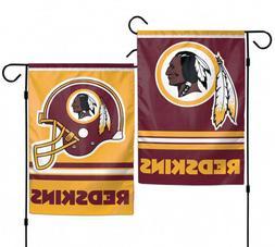 "WASHINGTON REDSKINS TEAM GARDEN WALL FLAG BANNER 12"" X 18"" 2"