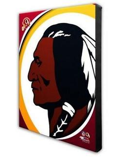 Photo File Washington Redskins Team Logo Canvas Print Pictur