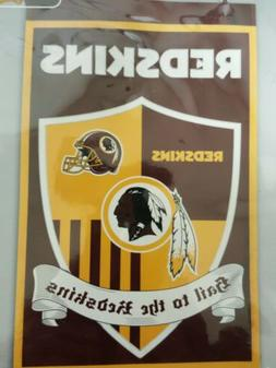 washington redskins team shield banner flag 38