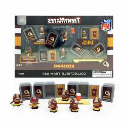 Washington Redskins TEENYMATES Figures Team Box Set W/ Coach