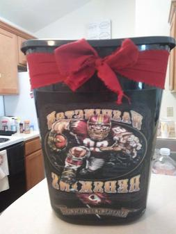 washington redskins Trashcan trash can kitchen laundry shabb