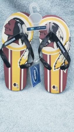 Washington Redskins unisex Gradient Thongs Flip Flops Sandal